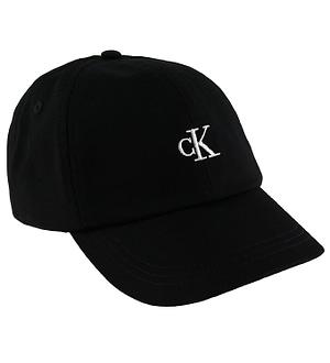 Calvin Klein Kasket - Sort m. Logo