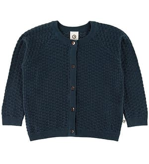 Müsli Cardigan - Strik - Midnight