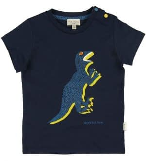 Paul Smith Baby T-shirt - Ali - Navy m. Dinosaur