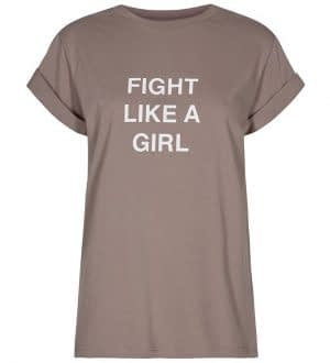 Designers Remix T-shirt - Stanley Fight - Taupe