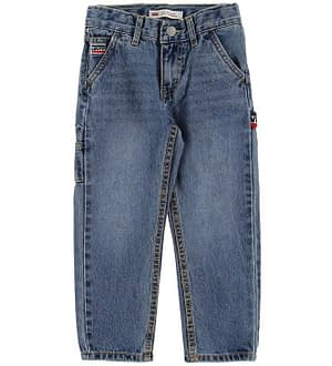Levis Jeans - 502 Denim Carpenter - Blå Denim