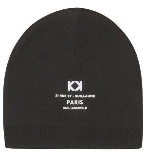 Karl Lagerfeld Hue - Rue St-Guillaume - Uld - Sort