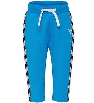 Hummel Sweatpants - Harley - Blå m. Vinkler