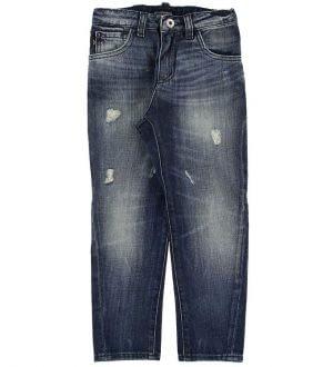 Emporio Armani Jeans - Blå Denim