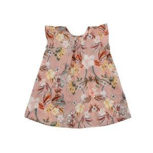 Christina Rohde Rose Floral Baby Dress