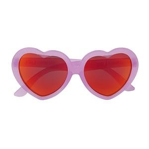 Solbriller - Hjerte (rosa)