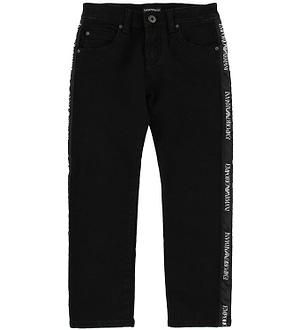 Emporio Armani Jeans - Sort m. Logostribe