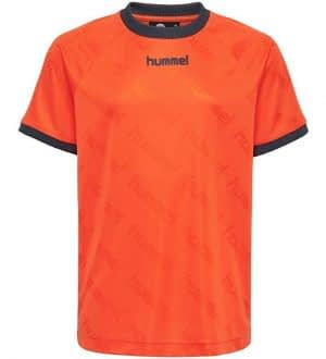 Hummel Teens T-shirt - HMLLucas - Orange