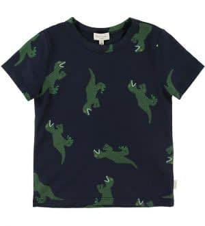 Paul Smith Junior T-shirt - Adnin - Navy m. Dinosaur