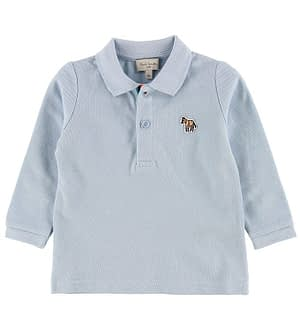 Paul Smith Baby Polo Bluse - Viateur - Lyseblå