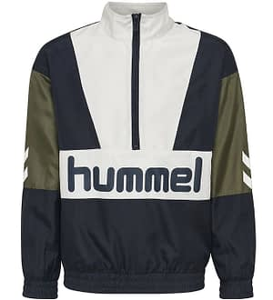 Hummel Teens Cardigan - Snoop - Navy/Hvid m. Logo